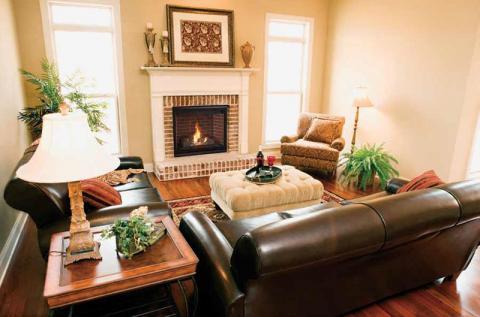 SLDVT model fireplace