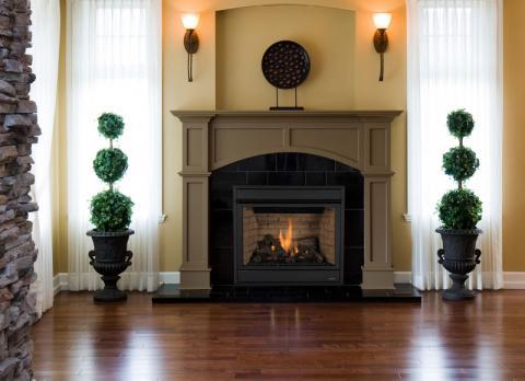 MPDP model fireplace