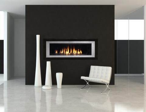 RHAP54 (Rhapsody) model fireplace