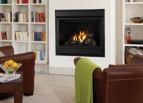 SDV model fireplace