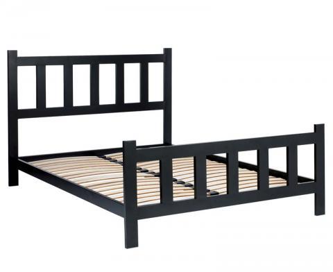 """Grey """"Picket"""" bed frame"""
