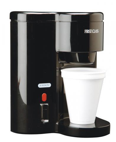 Jerdon Style CM12B 1-Cup Coffeemaker