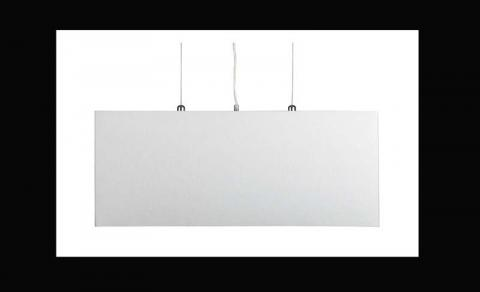 Crate and Barrel Finley Rectangular Pendant Lamp