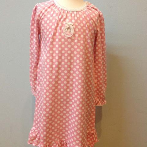 Babycotton Fairies Dots nightgown