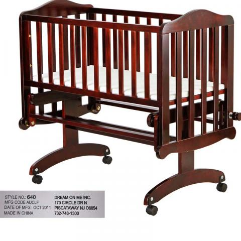 Lullaby Cradle Glider model 640C-Cherry