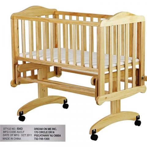 Lullaby Cradle Glider model 640N-Natural