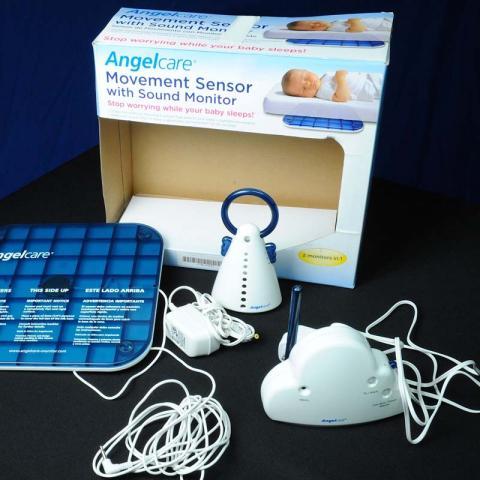 Monitor con sensor de movimiento y sonido para bebé de Angelcare