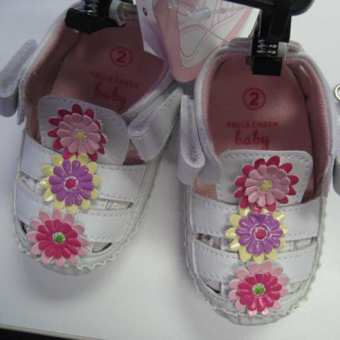 """American Boy and Girl Infant """"Susan"""" Sandals"""