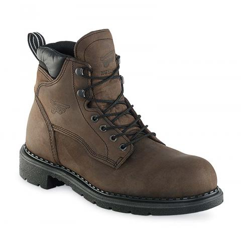 One model of recalled Red Wing steel toe boots