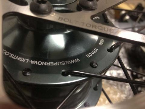 Specialized Hub Close Up