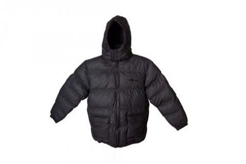 Full coat to show elastic bottom of coat
