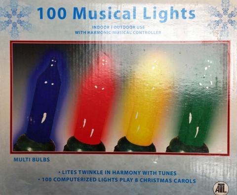 100 luces musicales vendidas en Pepe Ganga