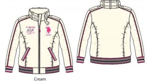 Cream jacket