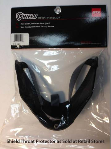 Shield Throat Protector as Sold At Retail Stores