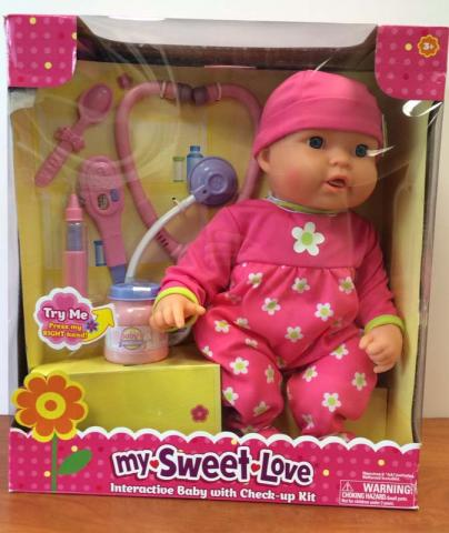 My Sweet Love Cuddle Care Doll in Packaging