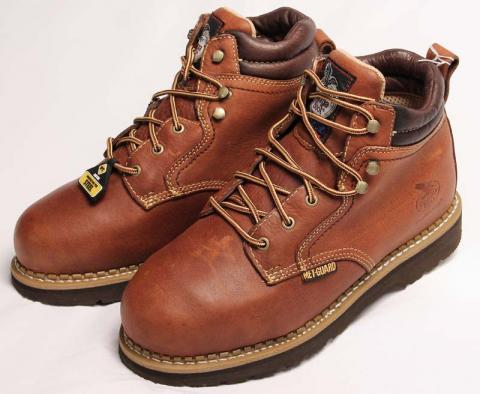 "Rocky Brands Georgia Boot Metatarsal 6"" steel-toe work shoe, model G9075"