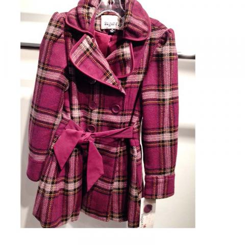 Peacoat KEM 236 (Purple Plaid)