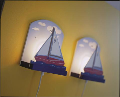 SEGLATS children's wall-mounted lamp