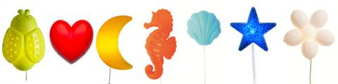 SMILA children's wall-mounted lamps