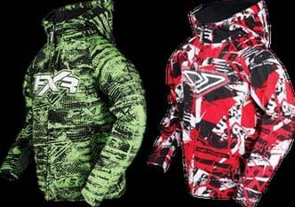 Chase and Phase Softshell Hoodies (both come with a drawstring, not shown)