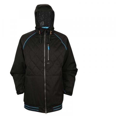 Boys' Ripzone Hooligan Hooded Jacket
