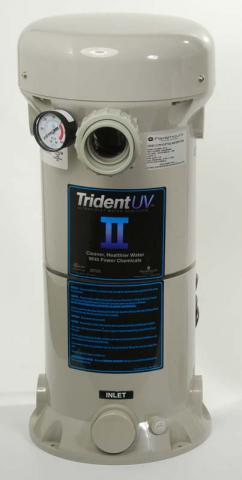 Trident II pool sanitation system