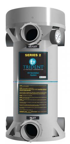 Trident Series 2 pool sanitation system
