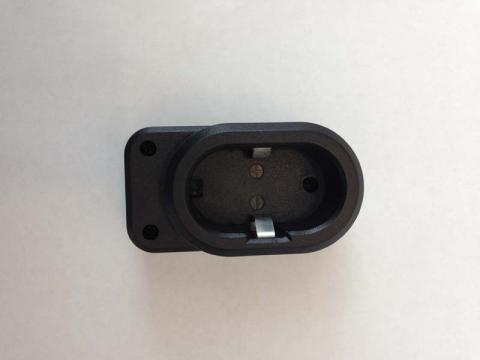 Battery charger adapter (bottom view)