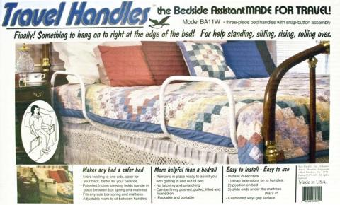Imagen en empaque de barandal de cama BA11W