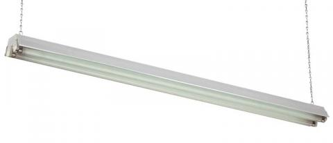 Commercial Electric 2-Lamp Shop Light