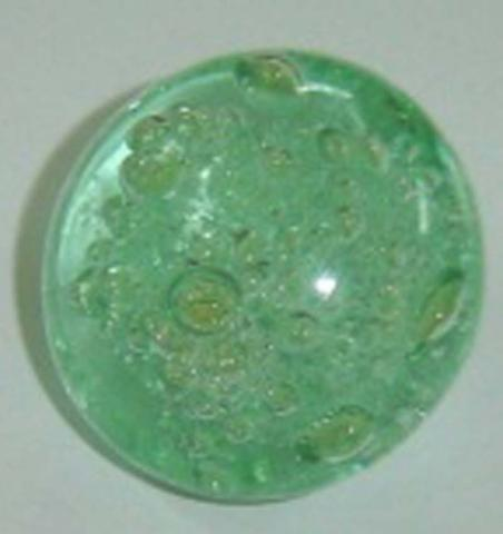 Cost Plus World Market Glass Green Bubble Knobs