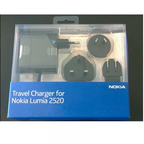 Travel Charger for Nokia Lumia 2520 Tablet