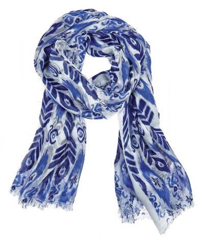 Julie Vos Sierra women's Sierra scarf – blue/purple