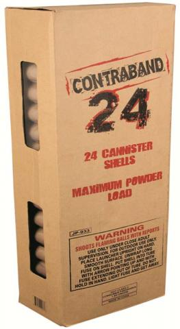 Contraband 24 fireworks kit