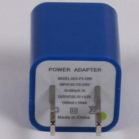Gemini USB A/C Power Adaptor/Charger Label