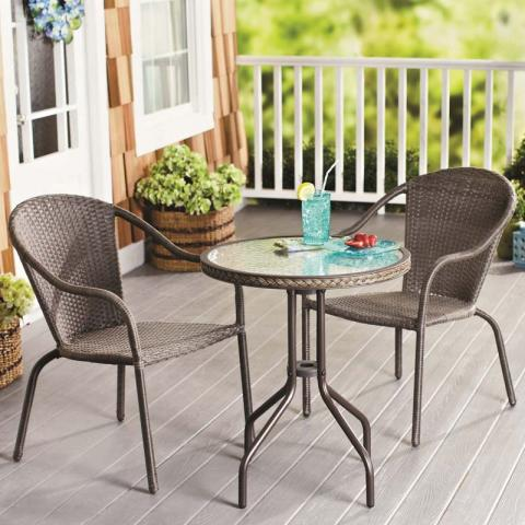 Nantucket Wicker Outdoor Set