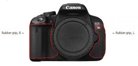 Canon EOS Rebel T4i Digital Camera