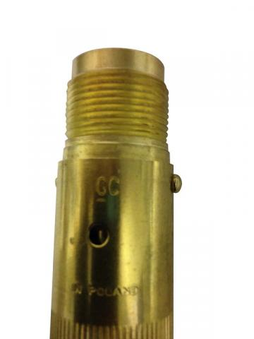 Torch handle with date code