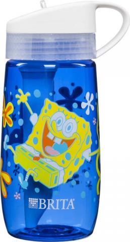 SpongeBob Square Pants® Water Bottle (front and back)