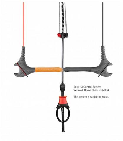 Cabrinha 1X control system without Recoil Slider