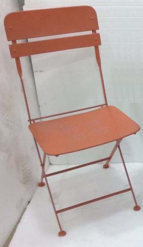 Recalled bistro chair