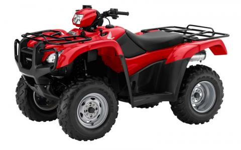 Honda FourTrax Foreman Red