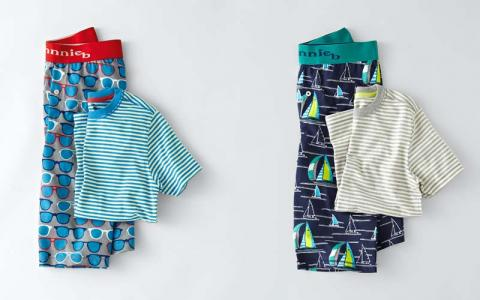 Johnnie B boys' pajamas with shorts and top