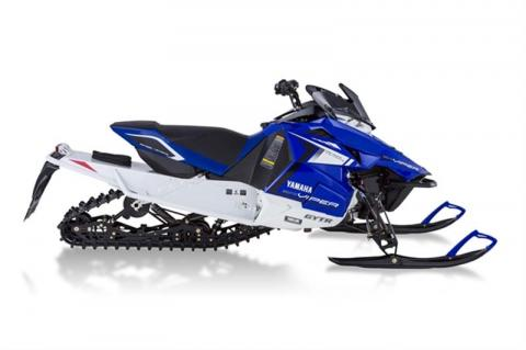 "Blue and White Yamaha 2014 model SR10RXS (""SRViper RTX SE"") – Also available in Red"