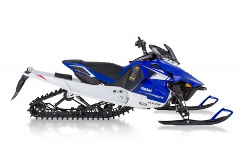 "Blue and White Yamaha 2014 model SR10XS (""SRViper XTX"") – Also available in Red"