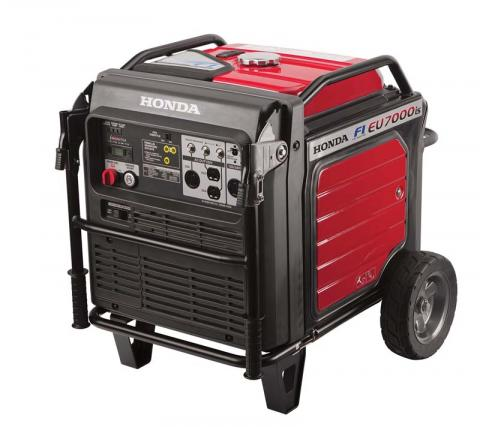 2014 Honda EU7000isN AT, 7,000-watt, gas-powered generator