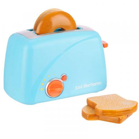 Just Like Home Toy Toaster Set