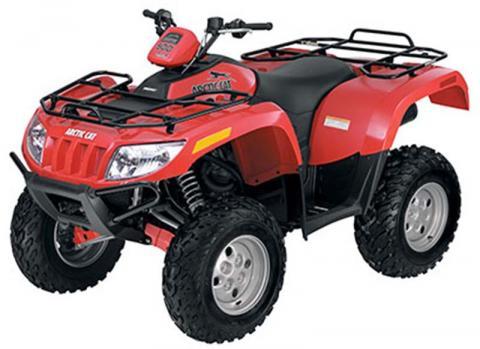 2008 Single-rider ATV