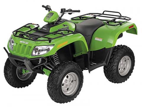 2009 single-rider ATV