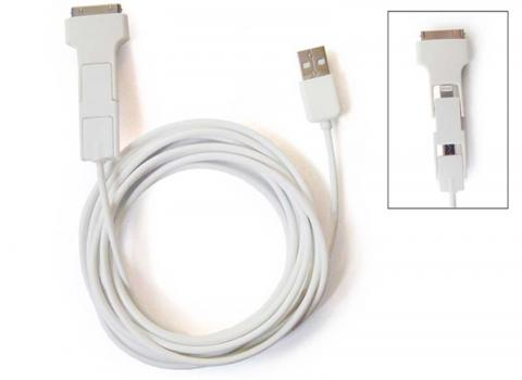 3-in-1 USB charger